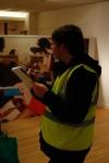 A BSRC officer surveys vodafone for tax violations.